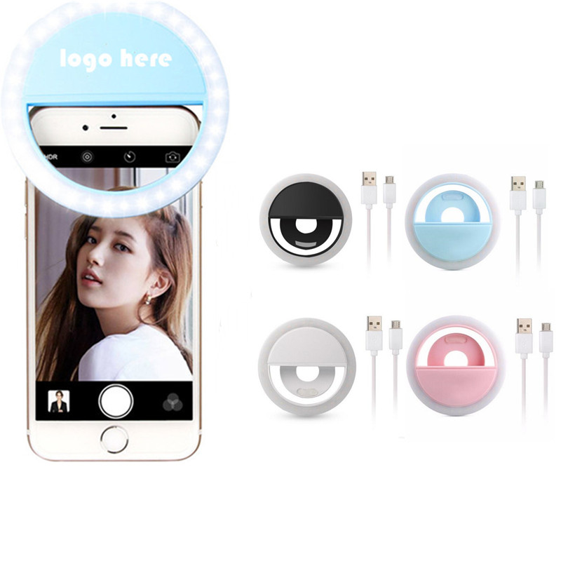 GL-KVL1087 Chargeable Selfie Ring Light