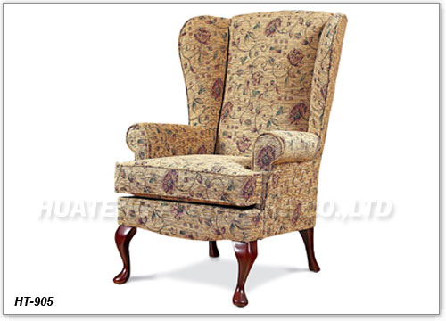 Queen anne wing chair for Modern queen anne furniture